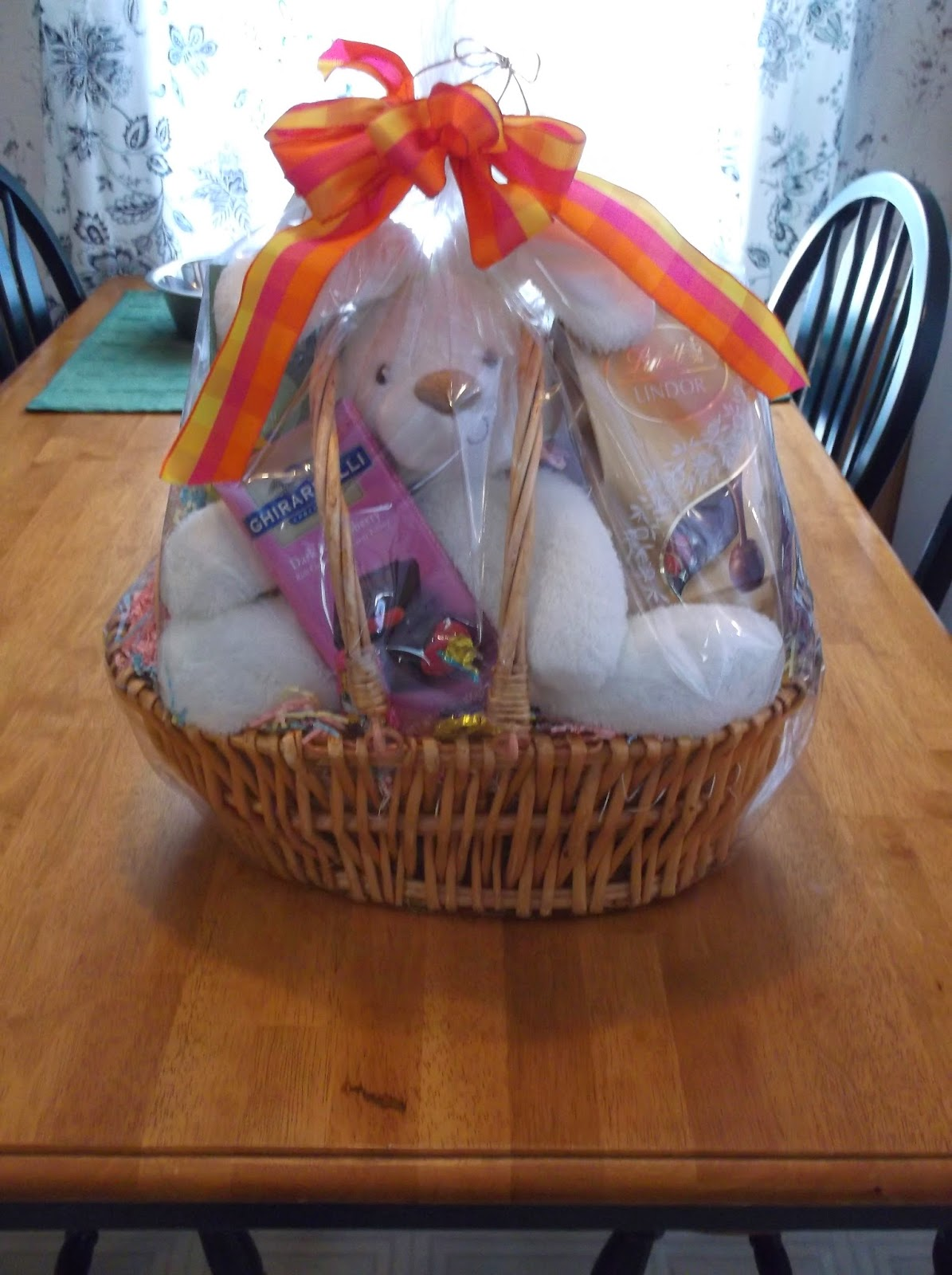 Missys product reviews sweet treats easter basket review and basket in my opinion my niece will like the bunny for easter so that is who i will give it to i love chocolate and all these were very tasty and yummy negle Images