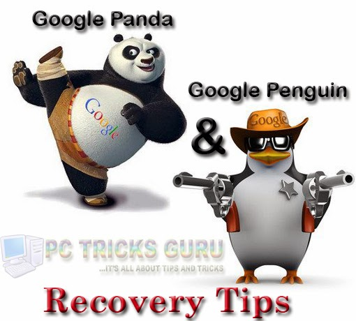 Tips to recover from Google Panda and Google Penguin