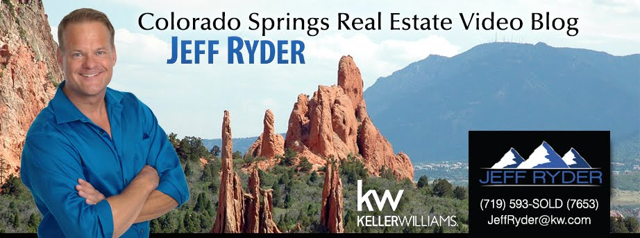 Colorado Springs Real Estate Video Blog with Jeff Ryder