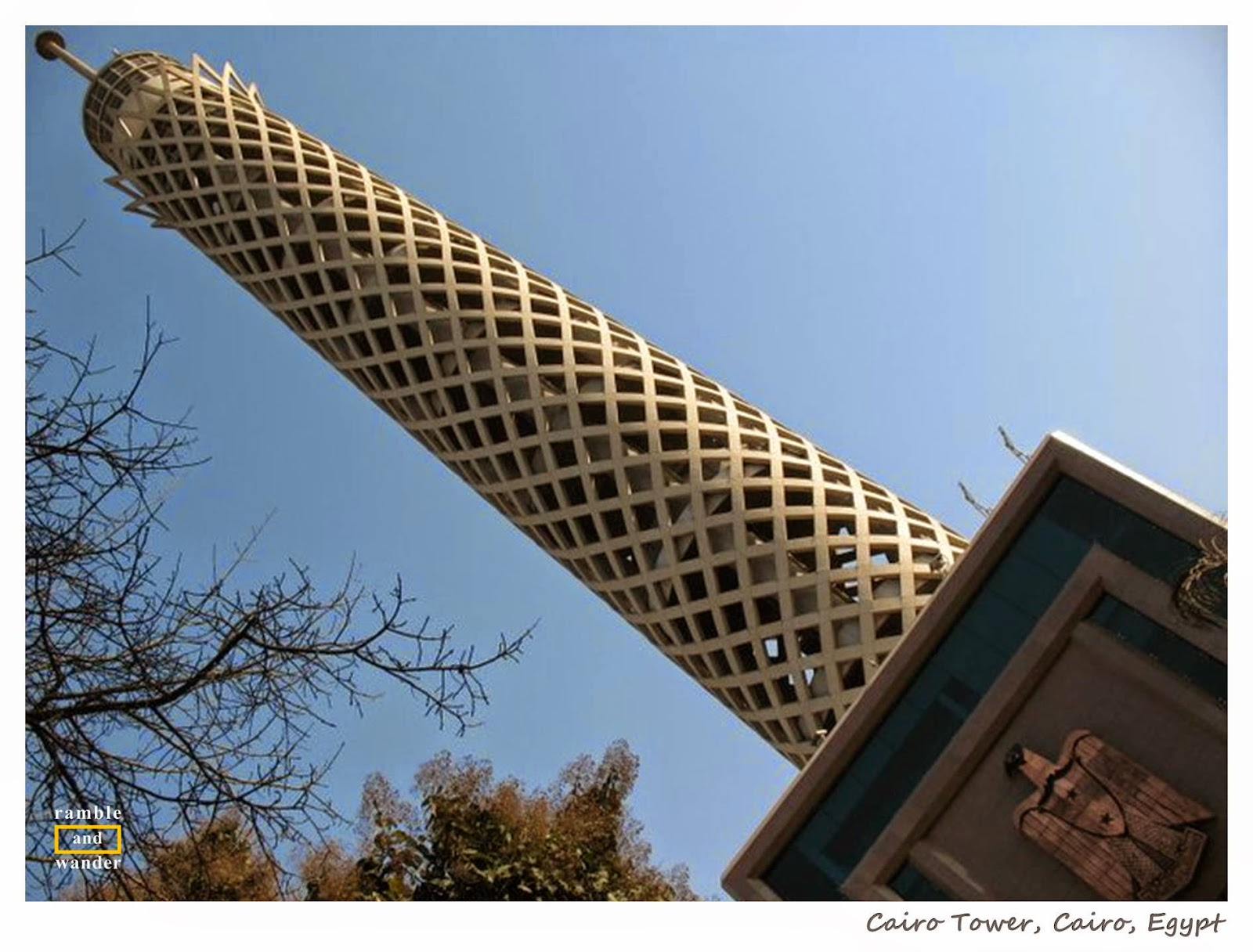Cairo Tower @ Borg al Qahira, Cairo, Egypt