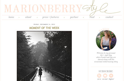 style of your own blog, marion berry style, girl crush blogs