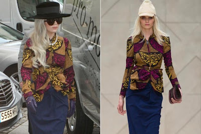 lag Inspirations Africaines pour Lady Gaga
