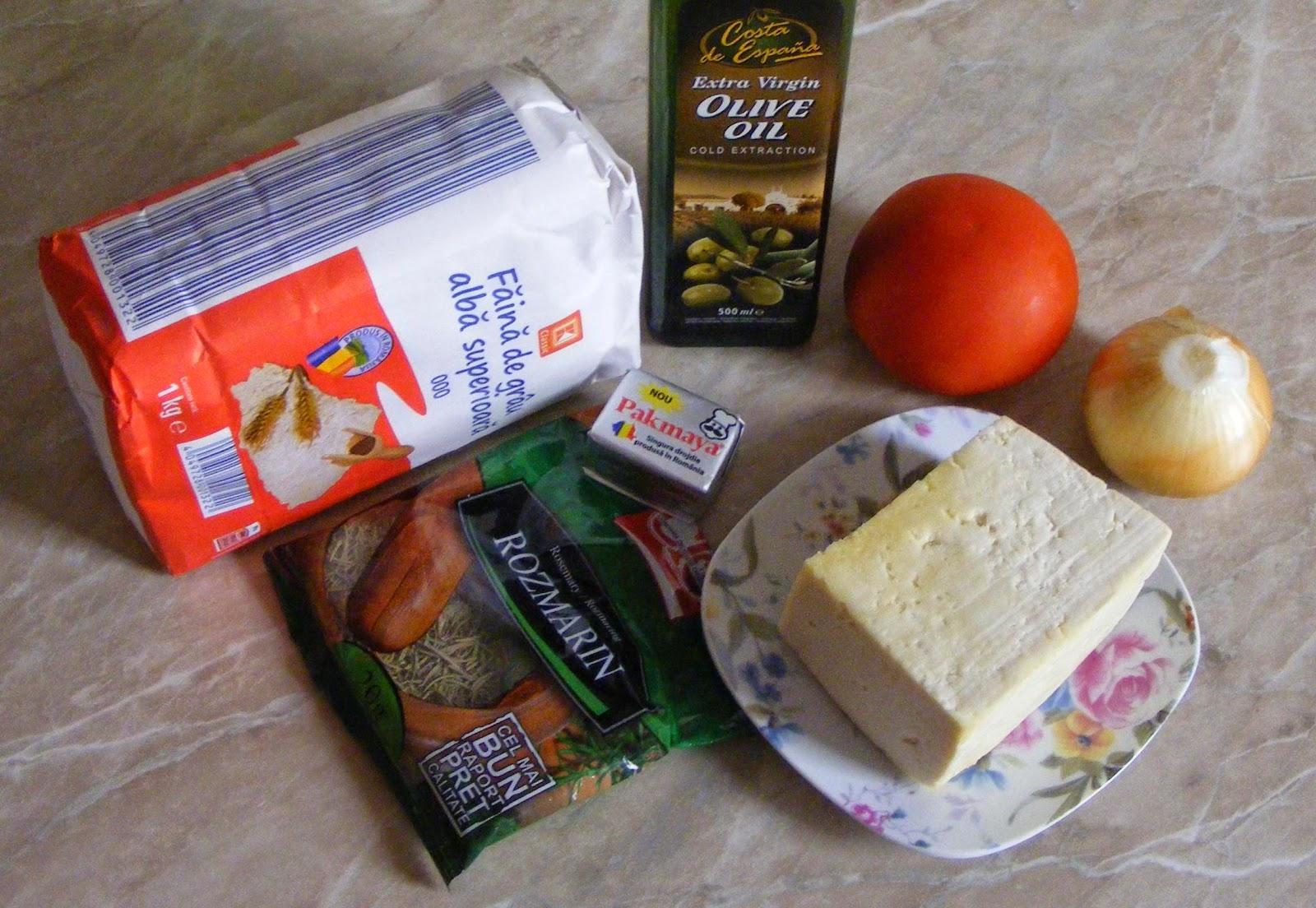 focaccia ingrediente, ingrediente pentru focaccia cu branza si rosii, retete focaccia, reteta focaccia, cum se prepara focaccia, cum facem focaccia, retete si preparate culinare focaccia, cum preparam focaccia italiana,
