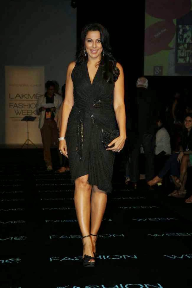 Pooja Bedi at LFW Summer Resort 2014