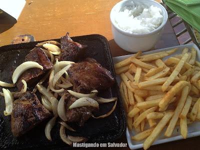Platô Bar e Restaurante: Filé na Chapa