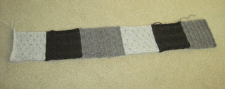 knitted strip