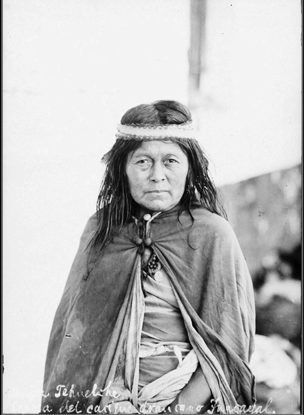 Mujer del Lonko Inakayal.