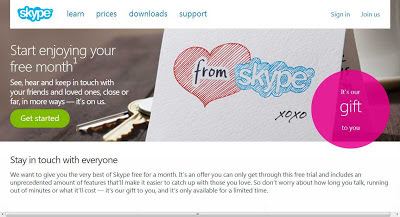 Get Unlimited Skype Phone calls and group video calls to real phone number to anywhere for free