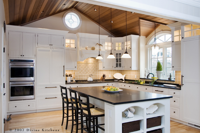8 foot ceiling kitchen cabinets images for Kitchen cabinets for 7 foot ceilings