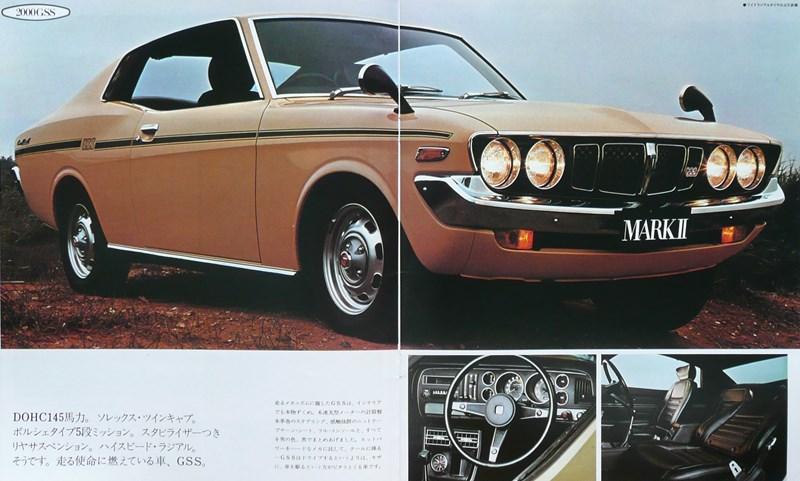 Toyota Corona Mark II 2000 GSS, hardtop, 18R-G, japońskie sportowe coupe, zdjęcia