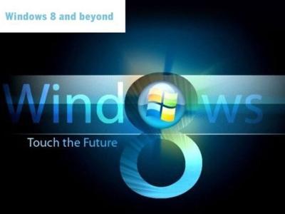 Windows 8 bakal menjadi sistem operasi pertama Microsoft direka untuk komputer desktop dan juga tablet