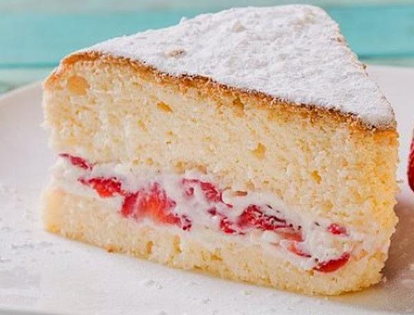 recept voor luchtige cake
