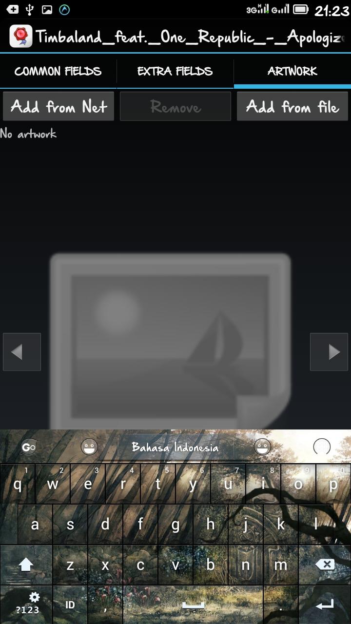 cara mengganti cover album mp3 dengan dengan android
