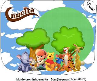 etiquetas para imprimir gratis para Nucita, de Winnie de Pooh y sus amigos