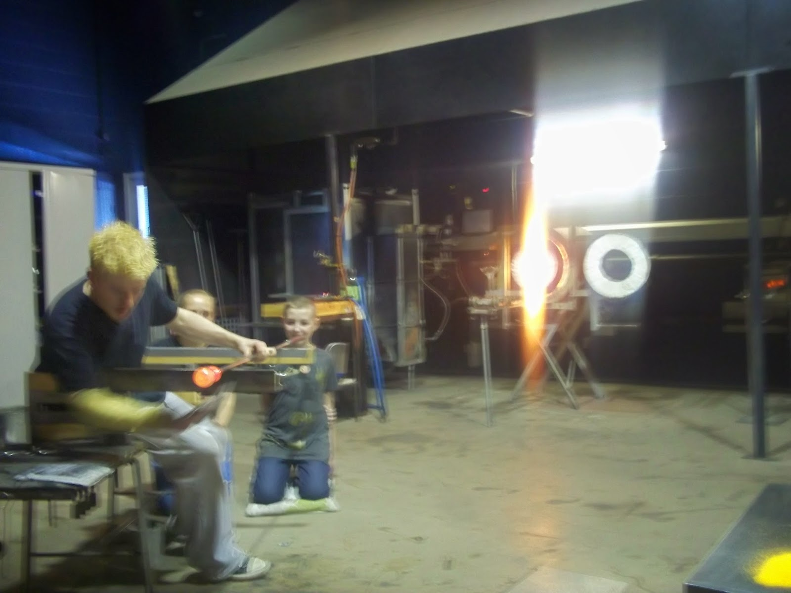 Glass blowing The World of Glass St Helens