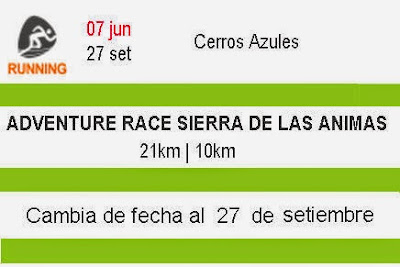 21k y 9k Adventure Race Sierra de las Ánimas (27/sep/2015)