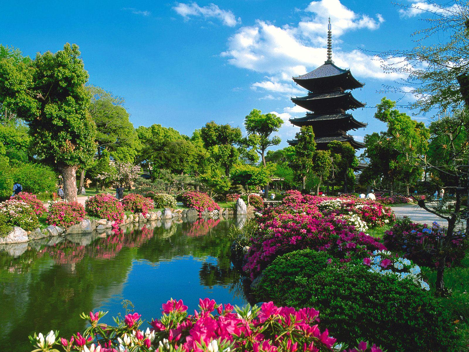 Japon jardines y espacios verdes fondos de pantalla for Paisajes de jardines