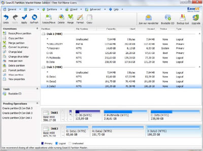 Easeus Partition Master Home 4