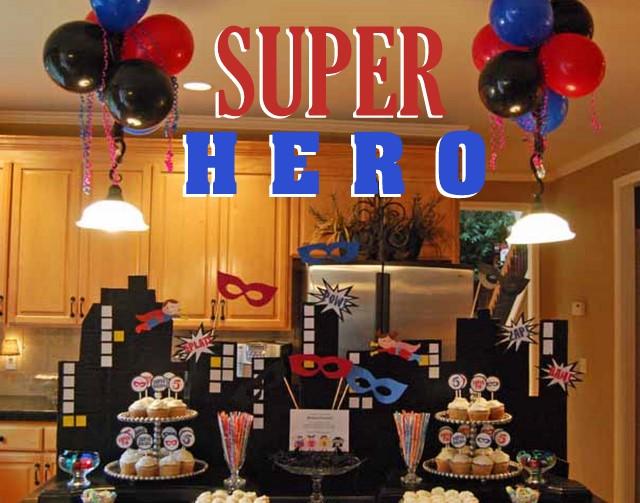 a super fun superhero party oh my creative