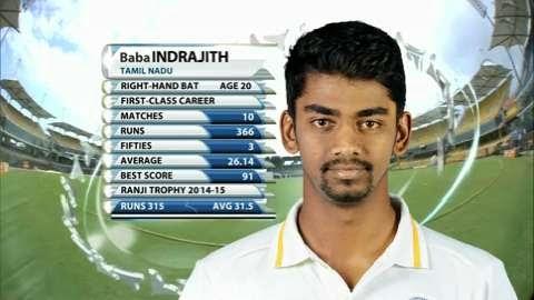 Baba-Indrajith-maiden-First-class-century-TN-v-Mum-Ranji-Trophy 2014-15