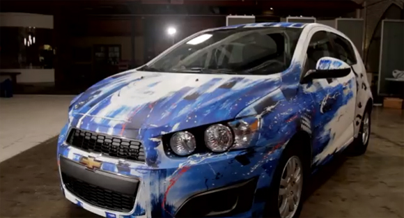 EnikOne Chevy Sonic Urban Art Car Central Part 3