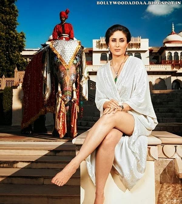 Kareena Kapoor hot thighs milky seen
