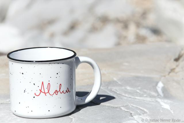 aloha friday,mug,glamping,camping,outdoor,aloha,enamel mug,tasse émaillée