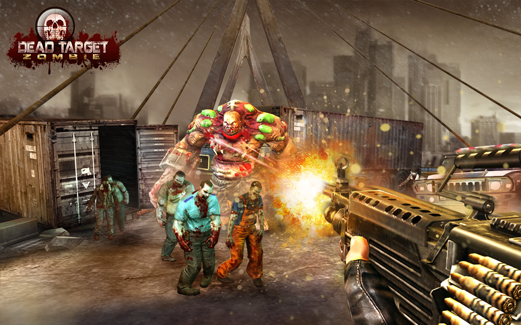 Dead Target Zombie v1.3.9 Apk Mod Data for Android
