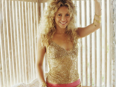 Pop Star Shakira Wallpapers beauty