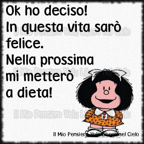Grazie Cara Amica Mafalda