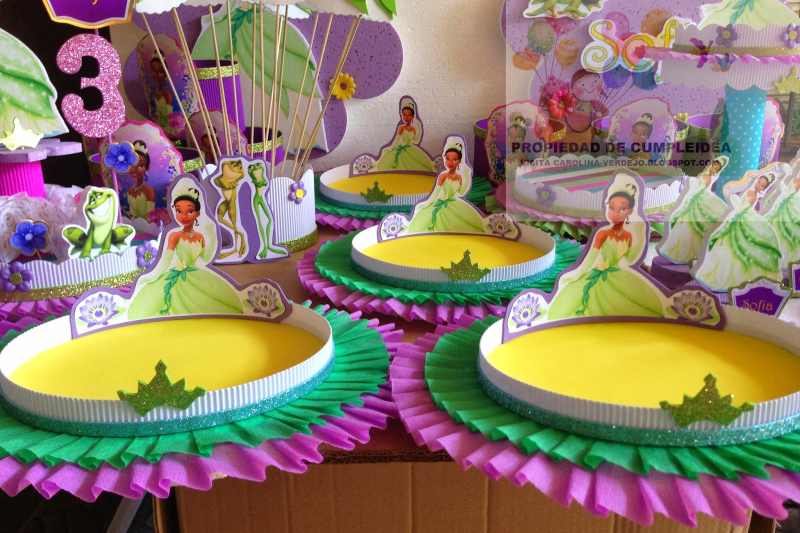 Fiesta al estilo de la Princesa y el Sapo | Fiesta101