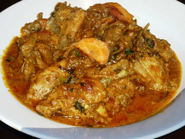 Kerala's authentic spicy chicken curry