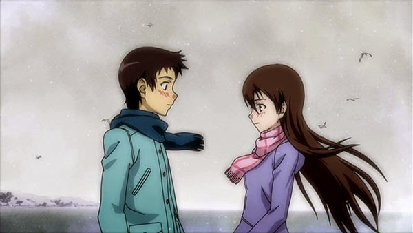 Shinichirou Nakagami and Hiromi Yuasa (True Tears)