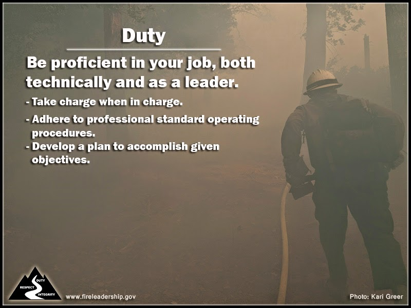 Respect Know your subordinates and look out for their well-being. - Put the safety of your subordinates above all other objectives. - Take care of your subordinate's needs. - Resolve conflicts between individuals on the team.