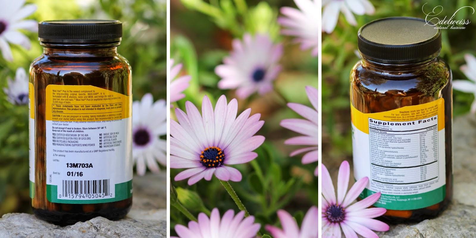 journal capillaire d 39 edelweiss maxi hair cure de printemps pour la pousse et la sant des. Black Bedroom Furniture Sets. Home Design Ideas