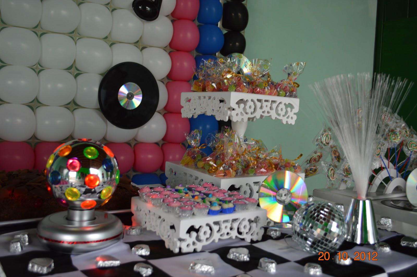 decoracao festa balada infantil:Marcadores: TEMA: BALADA , TEMA: MÚSICA