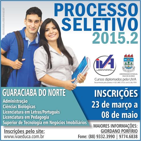 Processo Seletivo 2015.2