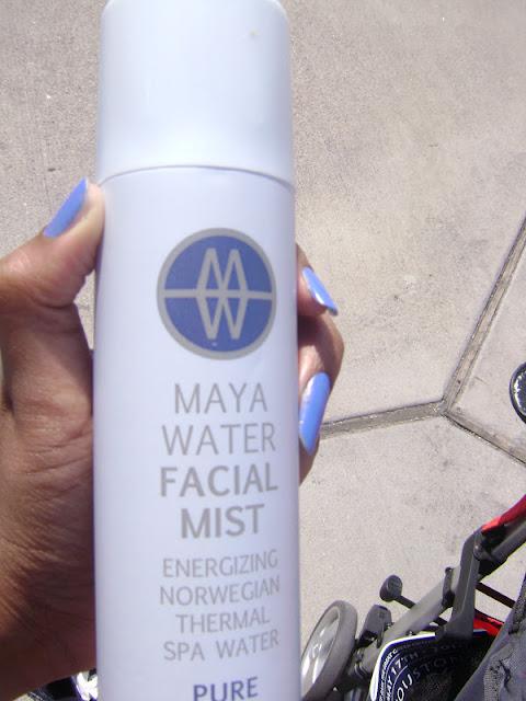 maya water facial mist, facial mist, summer facial mist