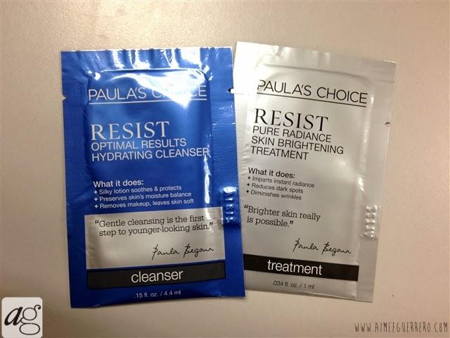 PAULA'S CHOICE Skincare Samples