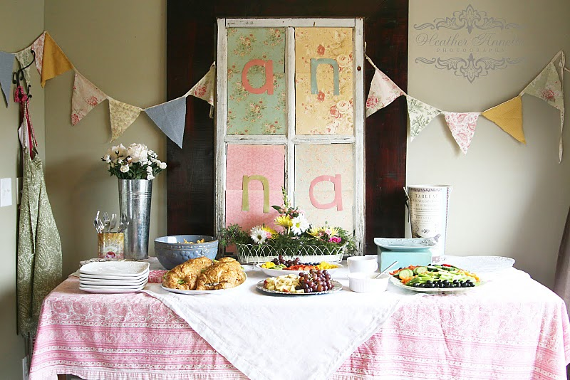 Sweet And Charming Baby Shower On A Budget!