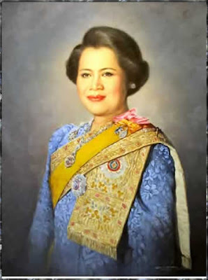 Mom Rajawongse Sirikit Kittiyakara สิริกิติ์ กิติยากร, queen consort of Bhumibol Adulyadej, King (Rama IX) of Thailand
