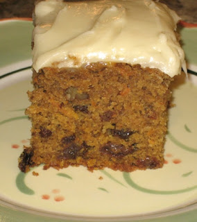 Pumpkin Carrot Cake Cream Cheese