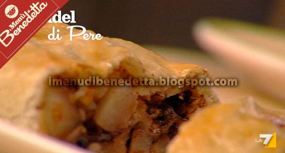 Strudel di Pere con Pasta Brisee di Benedetta Parodi