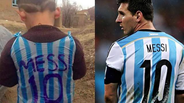 HEBOH! Pecinta Bola Seluruh Dunia Sedang Bantu Lionel Messi Temukan Bocah Irak ini!