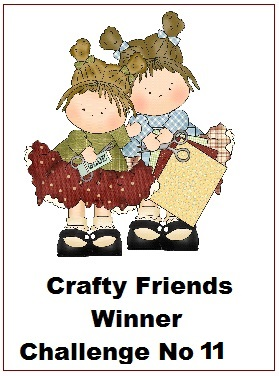 Winner - Crafty Friends Challenge