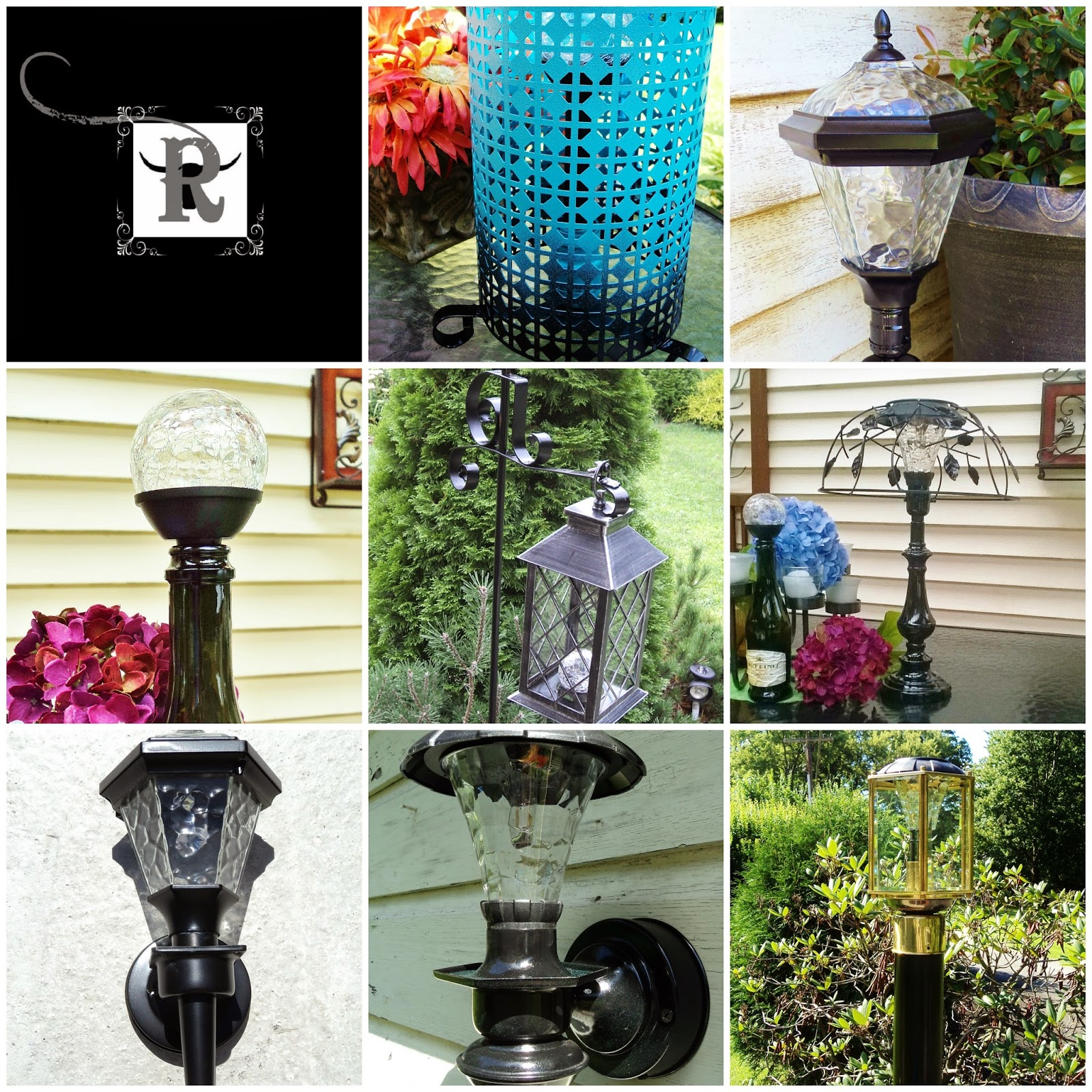Garden Solar Lights Ideas : Cut the cord solar lighting part redo it yourself