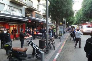 Atentado num bar em Tel Aviv