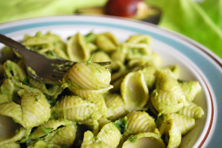 ... re making this lovely vegan pasta with pesto cream sauce today i