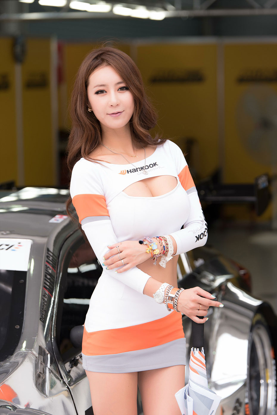 Jung Joo Mi - Girl Model Korean in Super Race