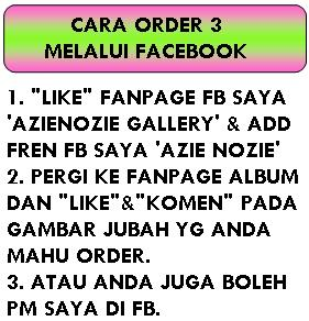 CARA ORDER - FACEBOOK